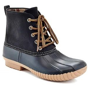 Women's Water Resistant Duck Winter Boots